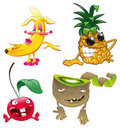 Family of fruit Royalty Free Stock Images