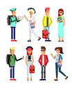 Family generation, illustratuion people .
