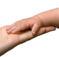 Family Hands, Mother and Father Hand Royalty Free Stock Photo