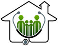 Family health home Royalty Free Stock Photo