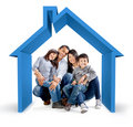 Family house Royalty Free Stock Photo