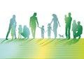 Illustration of families