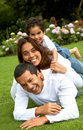 Family lifestyle portrait Royalty Free Stock Photo