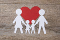 Family in love Royalty Free Stock Photo