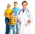 Family medical doctor Stock Photos