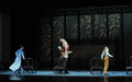 A family meeting the second act of dance drama shawan events of the past guangdong town is hometown ballet music focuses on Stock Photo