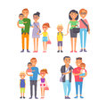 Family people adult happiness smiling group togetherness parenting concept and casual parent, cheerful, lifestyle happy Royalty Free Stock Photo