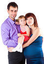 A family portrait Stock Images