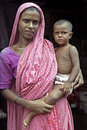Family Portrait of Bangladeshi mother and child