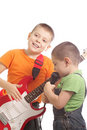 Family rock band Royalty Free Stock Images