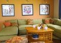 Family Room Royalty Free Stock Photography