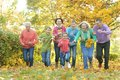 family running together Royalty Free Stock Photo