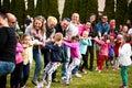 Family sport picnic Royalty Free Stock Photo