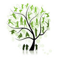 Family tree, relatives Royalty Free Stock Photo