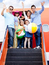 Family trip Stock Photography