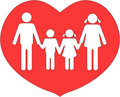 Family united in love Royalty Free Stock Photo
