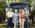 Family on vacation. Stock Photos