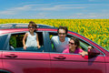 Family vacation, car trip Royalty Free Stock Photography