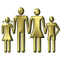 Family Value Concept Stock Photography