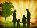 Family vector Royalty Free Stock Photo