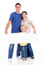 Family white board Royalty Free Stock Photo