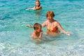 Familys Summer Holidays On Sea...