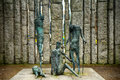 The Famine Memorial in St. Stephen`s Green, Dublin, Ireland Royalty Free Stock Photo