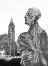 Famine statues in Dublin, Ireland Royalty Free Stock Photo