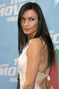 Famke janssen arriving at the mtv movie awards sony pictures culver city ca Stock Photography