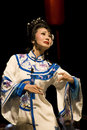The famous actress of Sichuan Opera Stock Photos
