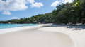 Famous anse lazio beach on praslin seychelles Royalty Free Stock Images
