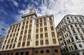 Famous Bacardi building in Havana, cuba. Royalty Free Stock Photo