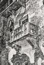 The famous balcony of romeo and juliet in verona italy Royalty Free Stock Photos