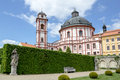 Famous baroque chateau jaromerice nad rokytnou czech republic Royalty Free Stock Photo