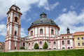Famous baroque chateau jaromerice nad rokytnou czech republic Royalty Free Stock Photography