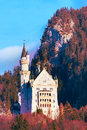 Famous bavaria landmark Neuschwanstein Castle in Germany