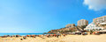 Famous beach Golden Bay in Malta Royalty Free Stock Photo