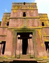 Famous beautiful Ethiopian church Royalty Free Stock Photography