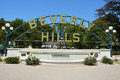 Famous Beverly Hills sign Royalty Free Stock Photo