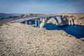 Famous bridge in Croatia. Royalty Free Stock Photo