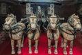 Famous Bronze Chariot In Xian,...