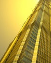 Famous buildings - jin mao tower shanghai Royalty Free Stock Photos