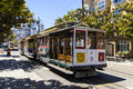 Famous cable car bus near fishermens wharf san francisco june fisherman s on june in san francisco california trains first began Stock Images