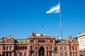 The famous casa rosada in buenos aires argentina Stock Images