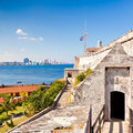 The famous castle of El Morro in Havana Stock Photo