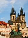 Famous cathedral in Prague Royalty Free Stock Photography