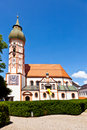 Famous cloister of Andechs Royalty Free Stock Images