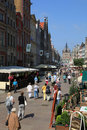 Famous Dluga street, Gdansk Royalty Free Stock Photo