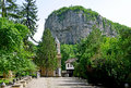 Famous dryanovo st archangel michael monastery in bulgaria Stock Images