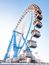 Famous ferris wheel oktoberfest munich germany Stock Photography